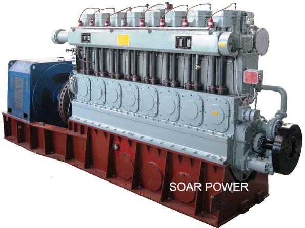 供应斯奥燃气发电机组(120kW~1,500kW)