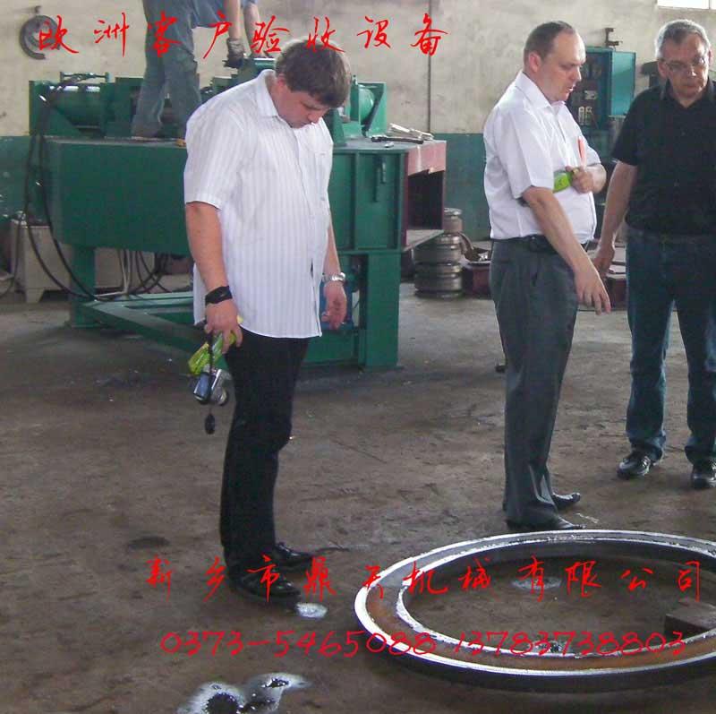 新乡鼎天直供专利产品法兰机液压卷法兰机