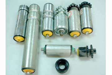 输送线托辊轮、输送线滚筒、流水线无动力托辊