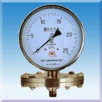 耐腐耐震膜片压力表YP-60YP100YP150-BZ