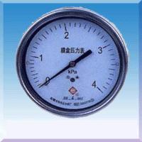 不锈钢膜盒压力表YE-60YE100YE150-B