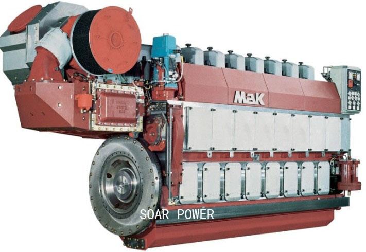 供应马克MaK船用柴油机(1,020KW~16,000KW)