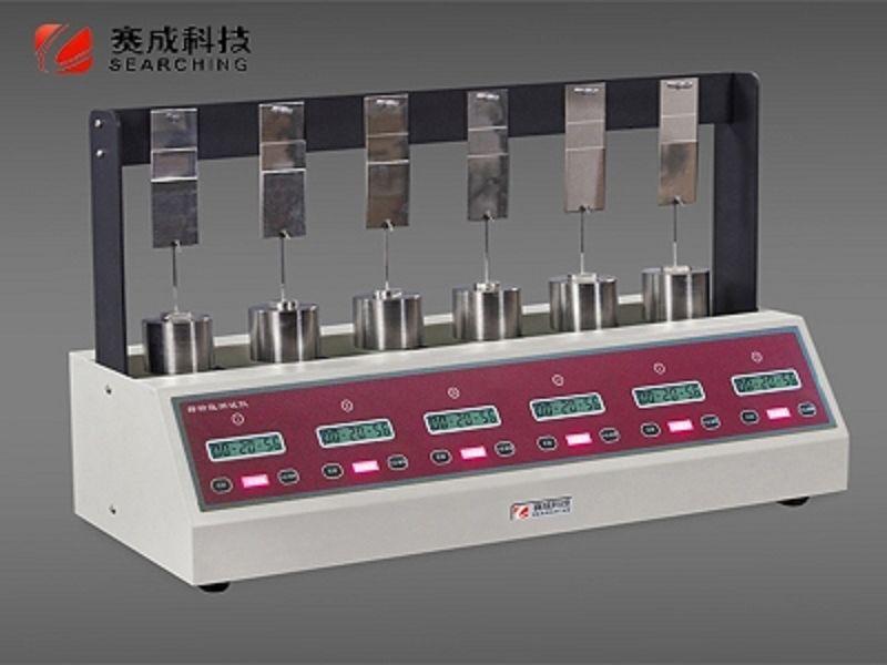 胶带保持力测试仪,保护膜持粘性测定仪、膏药保持力测定仪