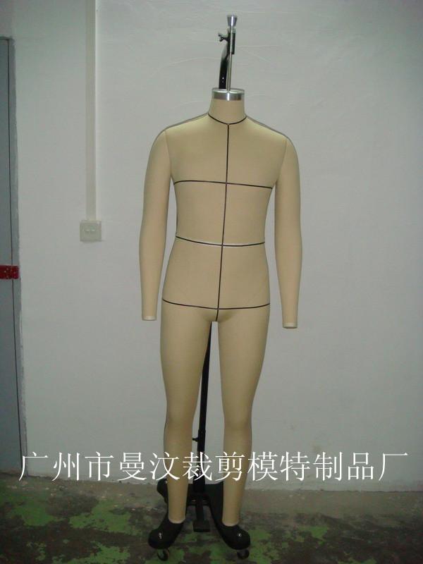 广州男装全身立裁模特(可无限次斜插针立裁模特),造型美观