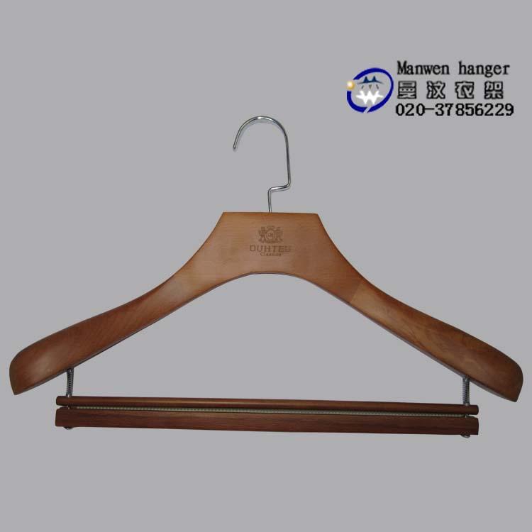 实木衣架、高级木衣架、荷木衣架,榉木衣架,价格实惠