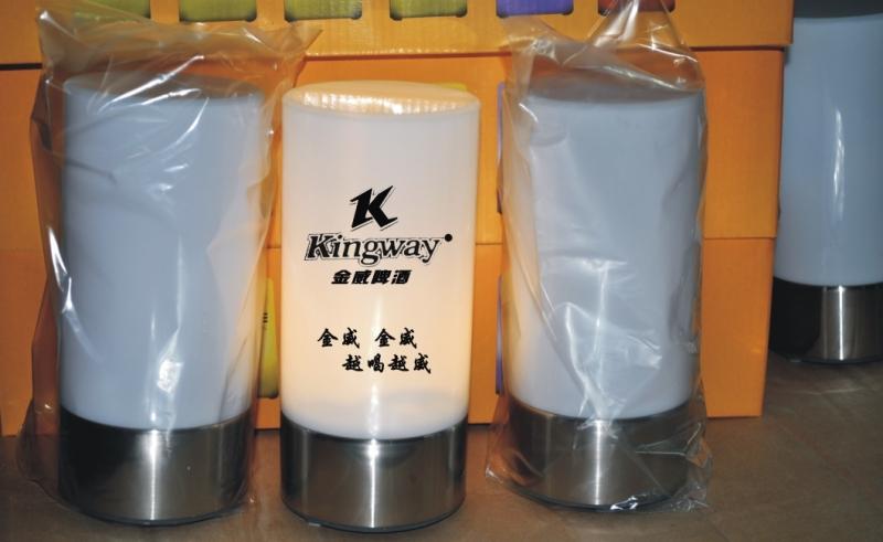 KTV酒吧专用充电环保吧台灯 LED小夜灯 专业订制LOGO