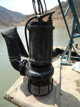 高效耐磨潜水清淤泵、吸泥泵、污泥泵