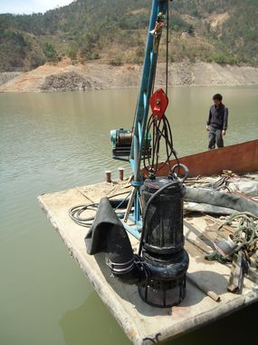 耐磨潜水泥浆泵、吸泥泵、污泥泵
