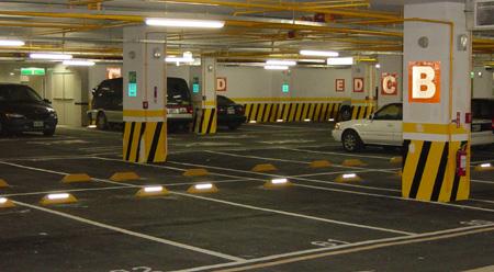 承接广州地下停车场划线-交通标志牌-中路达