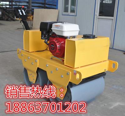 CB500小型汽油压路机手推两轮小型压土机
