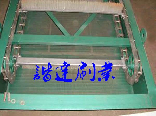 污水处理厂格栏处理毛刷|格栅除污机毛刷|