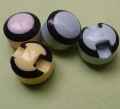 条纹纽扣,暗扣,树脂纽扣