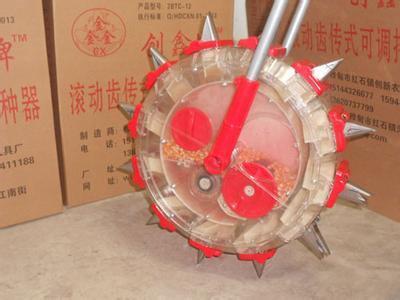 滚轮式播种器
