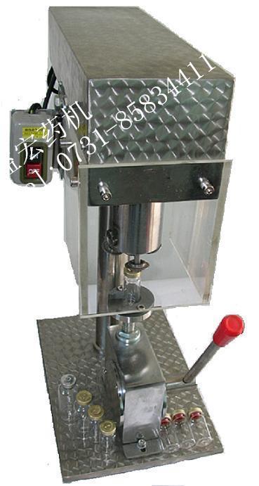 DY5-500手动轧盖机/铝盖锁口机/小型锁盖机-益宏药机