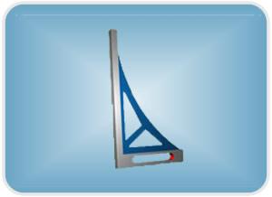 深圳铸铁直角尺,桥型平尺实体企业