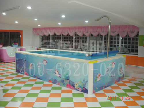 河北组装儿童游泳池豪华带加热设备