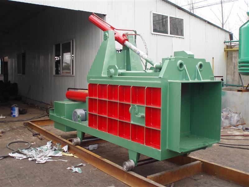 废铝压块机 液压废金属压块机