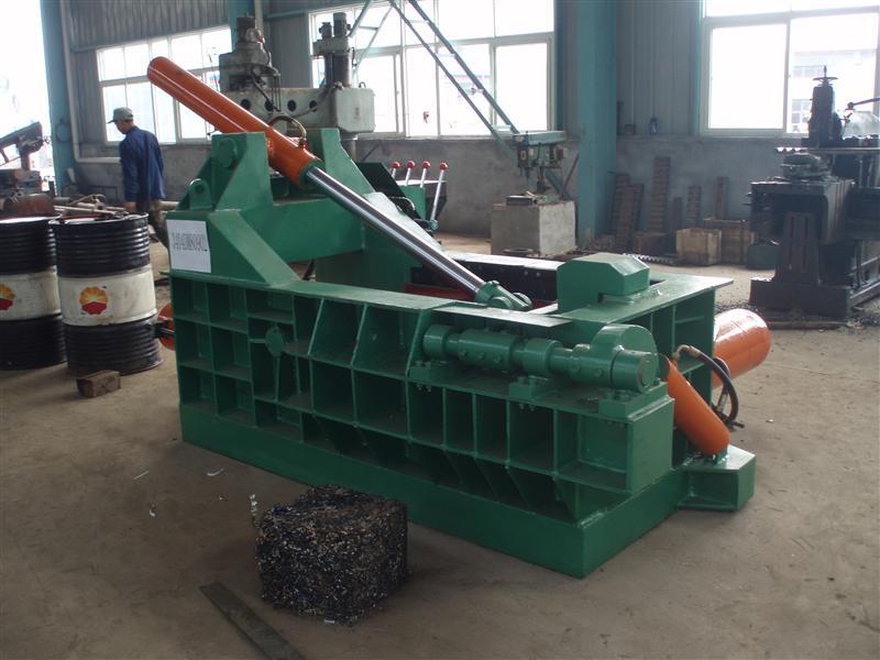 专业生产Y81-200T废钢压块机 打包机