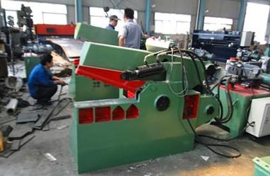 品牌鳄鱼式金属剪切机 废铁废钢切断机