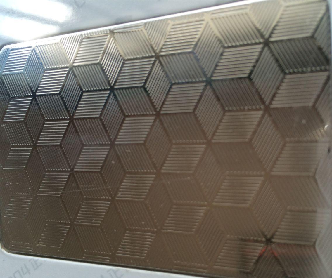 304不锈钢花纹板/彩色不锈钢板/不锈钢钛金板