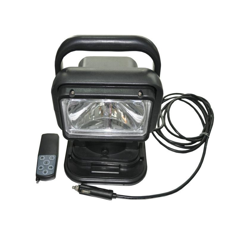 T5180卤素光源智能遥控车载探照灯