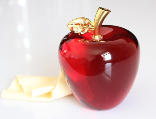 水晶苹果厂家紫色水晶苹果,平安夜水晶苹果厂家直销