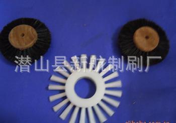 厂家供应印刷机圆盘刷尼龙丝毛刷