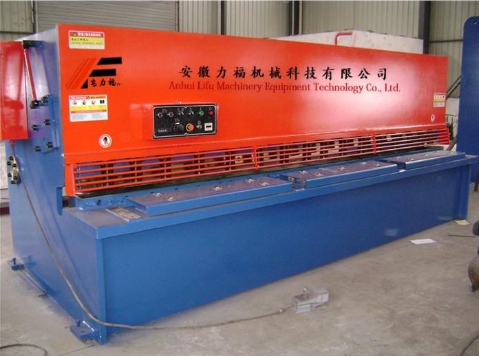 杭州地区6/3000摆式剪板机,3米