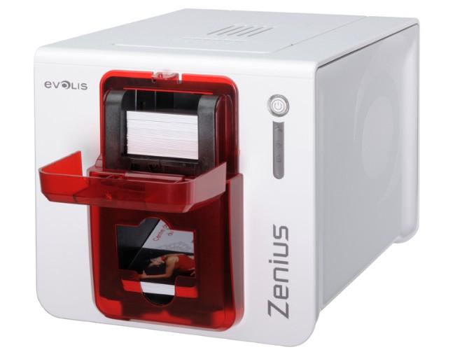 法国爱丽丝Evolis Zenius员工门禁卡证卡打印机