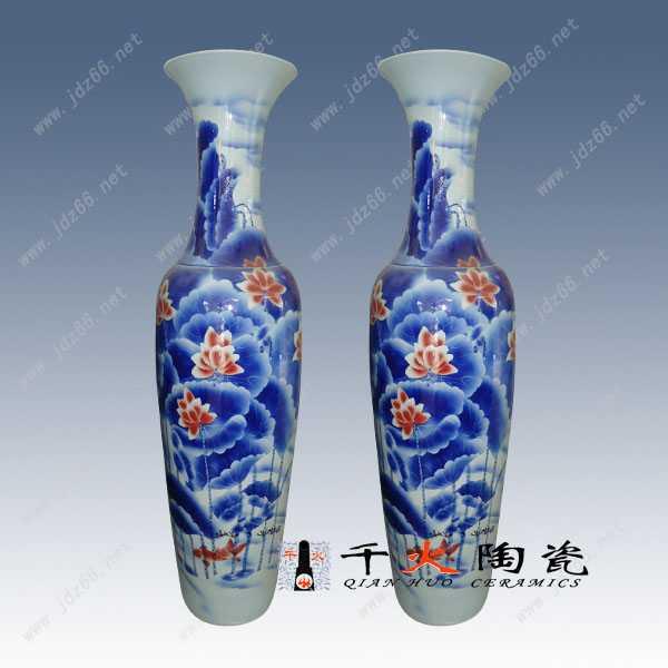 周年校庆定制陶瓷大花瓶