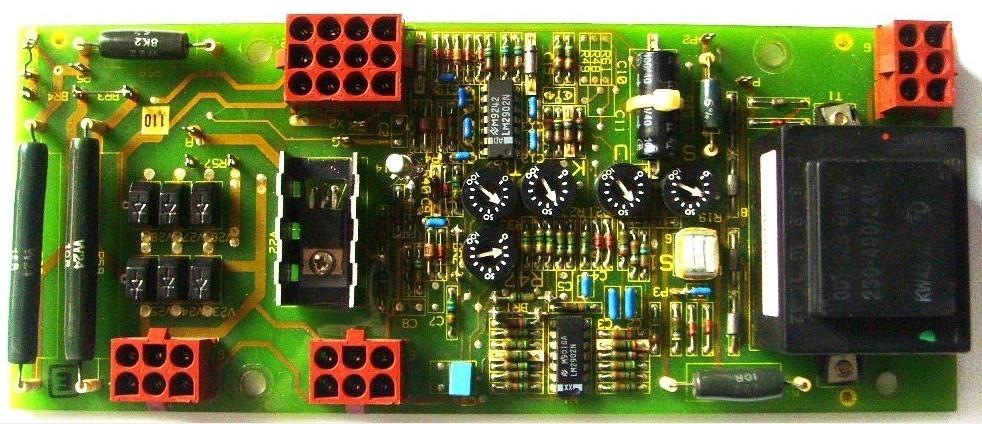 西门子6GA2 491-1A IFC6 发电机励磁板AVRA541432