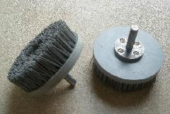 新款研磨丝盘刷打磨修边抛光磨料丝毛刷
