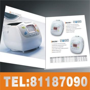 虎门宣传彩页设计印刷、产品目录、画册生产