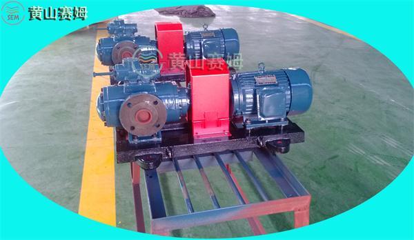 电厂风机房检修更换螺杆泵配件HSNH280-43NZ
