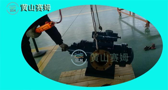 预精轧稀油站循环回路油泵HSNH440-42N