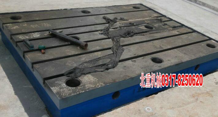 北重铸铁落地镗床工作台专业设计生产定做