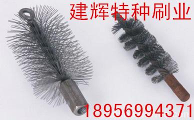 厂家供应钢丝缠绕抛光毛刷毛刷辊试管刷