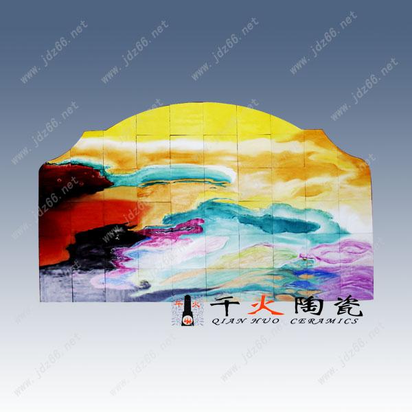 订制装饰壁画专业定制陶瓷装饰瓷板画