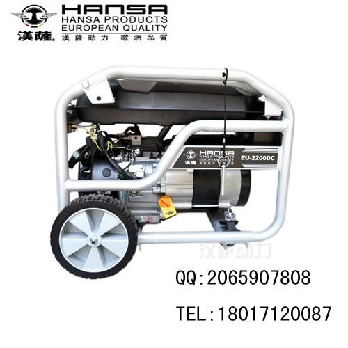 移动汽油发电机