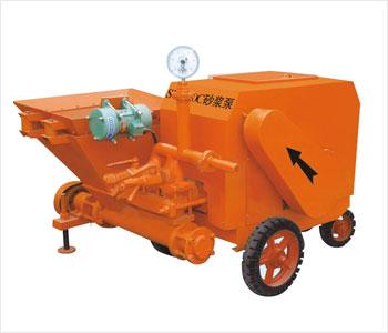 代理宏图砂浆输送泵 液压3.5型灰浆泵 钢筋调直延伸机