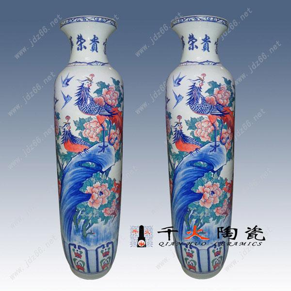 景德镇大陶瓷花瓶宾馆酒店陈列大花瓶