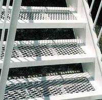 装饰钢板网 平台扶梯用装饰钢板网