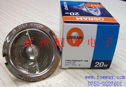 OSRAM 41930SP 24V20W 仪器灯杯 原装正品