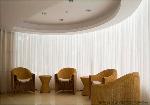 北京遮光窗帘布艺定做窗帘办公卷帘