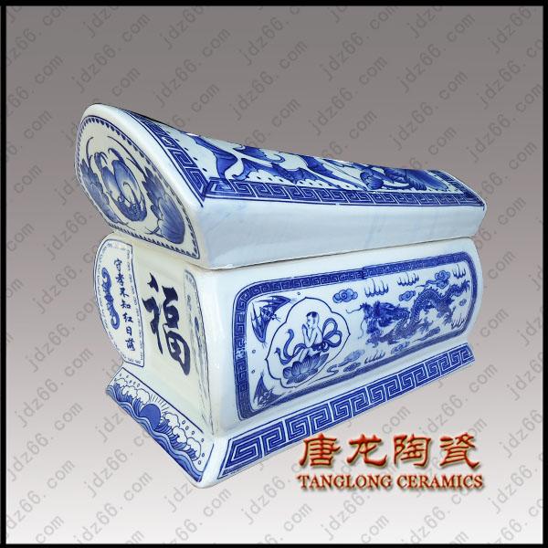 陶瓷棺材型号规格陶瓷骨灰棺材定制厂家