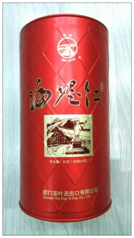 供应特级马口铁厦门海堤红茶罐丨丰元制罐