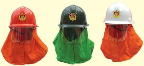 耐热防雾消防头盔的特点