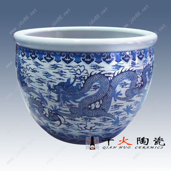 陶瓷高脚鱼缸定做厂家供应陶瓷纪念收藏品