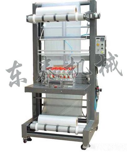 矿泉水半自动套膜机 矿泉水套膜封切机