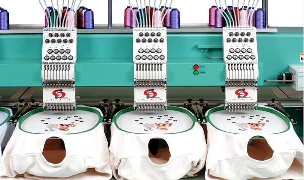 STKN-C系列_高级实用型成品刺绣机